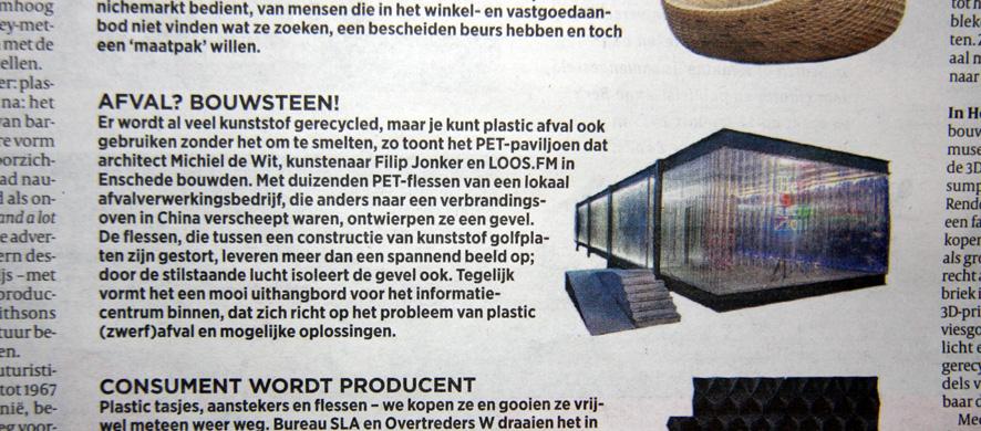 Michiel_de_WIT_ProjectDWG_Enschede_PET_Paviljoen_Publicatie_Volkskrant_PUB_150116