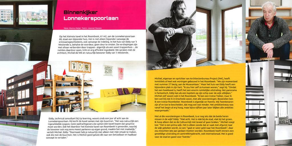 Roombeek magazine Mrt 2015 twee paginas klein