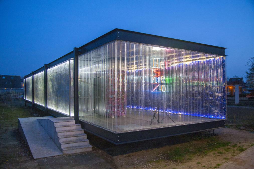 Het PET paviljoen in Enschede